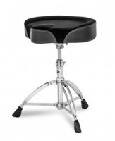 MAPEX Drummersitz T765A Sattel Sitz, doppelstrebig,