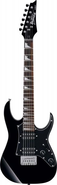 IBANEZ Micro E-Gitarre Schwarz GRGM21-BKN