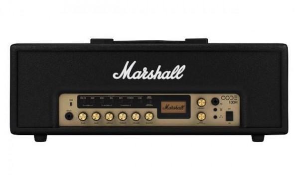 MARSHALL Topteil CODE100H digitaler Preamp, 100 Presets