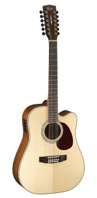 CORT MR710F12 Dreadnought Cutaway 12-String