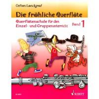 NOTEN Die fröhliche Querflöte Band 1 Landgraf Gefion ED 20591