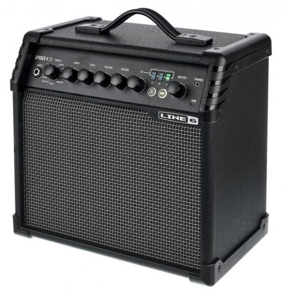 LINE6 Spider V20 MKII - E-Gitarren Verstärker