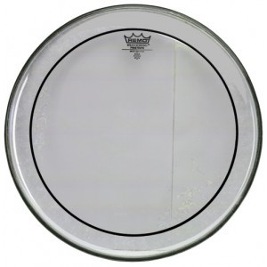 "REMO 18"" Pinstripe Transparent PS-031-00 812418"