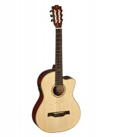 BATON ROUGE CR41S/CE-SN Klassikgitarre mit Tonabnehmer