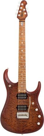 MUSIC MAN John Petrucci JP15 E-Gitarre, Sahara Burst Quilt,