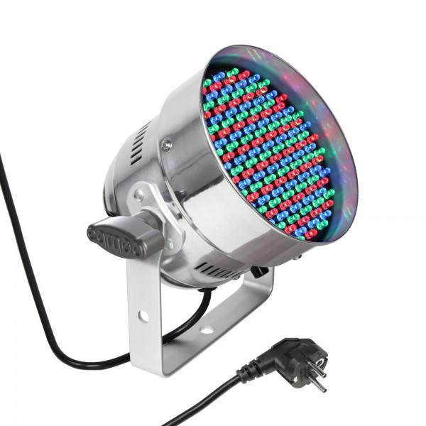 CAMEO PAR 56 CAN - 151 x 5 mm LED RGB PAR Scheinwerfer in poliertem Gehäuse CLP56RGB05PS