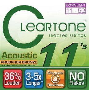 CLEARTONE Acoustic EMP Strings Custom Light 11-52 CT7411