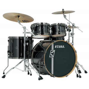 TAMA Superstar Hyperdrive BCB Brushed Charcoal Black Schlagzeug Set