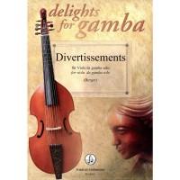 NOTEN Divertissements - 8 Stücke für Viola da Gamba Solo  - Delights for Gamba  FH 3411