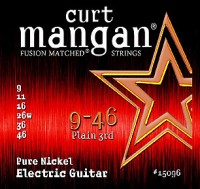 CURT MANGAN 9-46 Nickel Wound E-Gitarre Satz