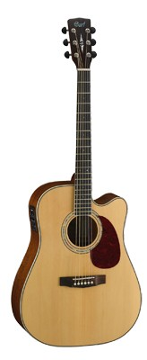 CORT MR710F Dreadnought Cutaway