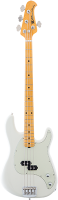 MUSIC MAN Cutlass Bass E-Bass, Ivory White,