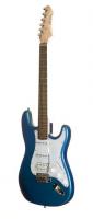 NOIR Ira-SSH BR inkl Bag E-gitarre metallic blue