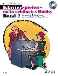 NOTEN Klavierspielen mein schönstes Hobby Heumann Band 2 ED 9399