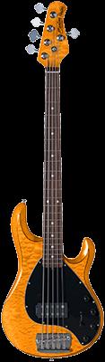 STERLING StingRay5, aktiv E-Bass, Antique Maple