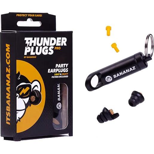 BANANAZ Thunderplugs Pro 2 Ohrstöpsel - Gehörschutz mit 2 Filtersätzen