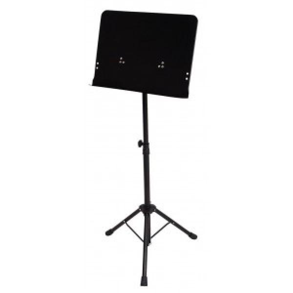 GEWA Orchesterpult Notenpult schwarz Vollblech F900722