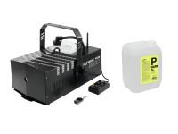 EUROLITE Set Dynamic Fog 1500 Flex + Smoke Fluid -P2D- 5l