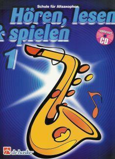 NOTEN Hoeren Lesen& Spielen 1 Alt Sax HASKE991748