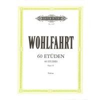 NOTEN Wohlfahrt Franz 60 Etüden OP 45 Violine EP3327