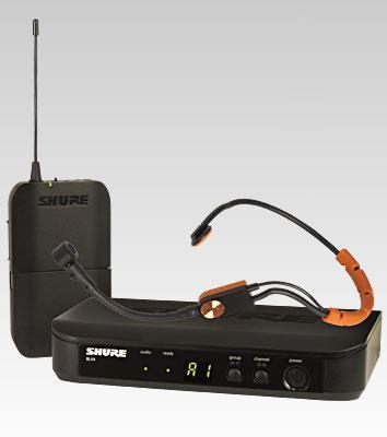 SHURE BLX 14/SM31FH Drahtlossystem SM31FH Headset analog