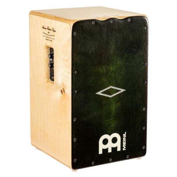 MEINL Artisan Edition Cajon Dark Olive Burst inkl Pickup Solea Line