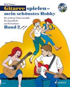 NOTEN Gitarre Spielen Mein Schönstes Hobby Band 2 ED 9974