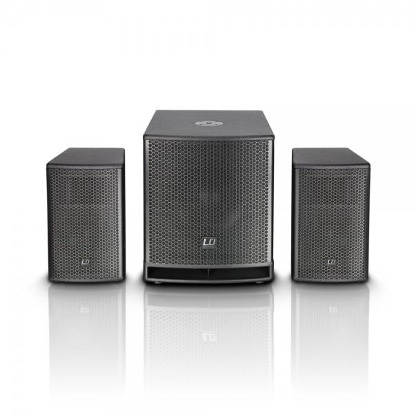 "LD SYSTEMS DAVE G� Serie - Kompaktes 12"" PA System aktiv LDDAVE12G3"