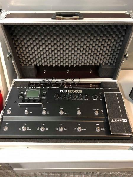GEBRAUCHT Line6 PODHD500X Multieffektgerät Gitarre inkl Case