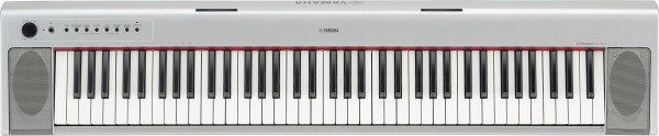 YAMAHA NP31S Portable Grand Keyboard Silver