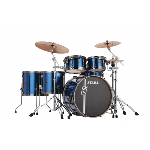 TAMA Superstar Hyperdrive Rock ISP Indigo Sparkle Schlagzeug Set