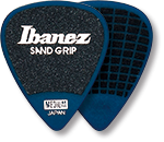 IBANEZ Flat Pick 6 Pack Sand Grip Model
