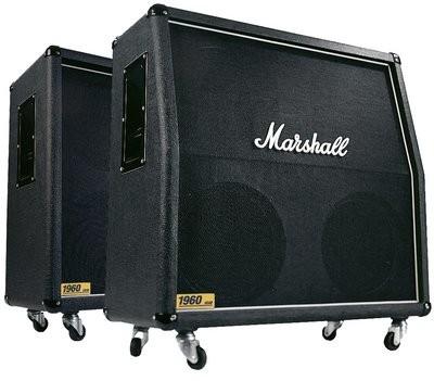 """MARSHALL MR1960B Box 300 Watt, 4x12"""" 16 Ohm mono / 2x8 Ohm stereo,"""