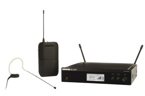 SHURE BLX 14/MX53 Drahtlossystem MX153 Ohrbügelmikrofon analog
