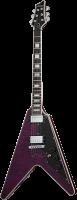 SCHECTER V-1 Custom E-Gitarre, Ebony Fretboard,