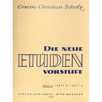 NOTEN Die neue Etüden Vorstufe 1 Scholz Erwin DO 01005