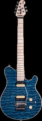 STERLING SUB AX4 E-Gitarre, Trans. Blue