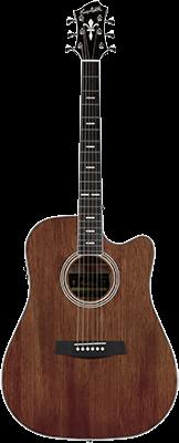 HAGSTROM Mora II E/Acoustic Body: Mahagoni Dreadnought
