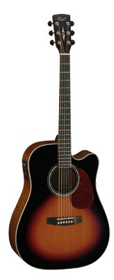 CORT MR710F Dreadnought Cutaway,