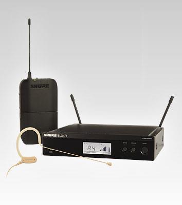 SHURE GLXD 14/MX53 Drahtlossystem MX1553 Ohrbügelmikrofon digital