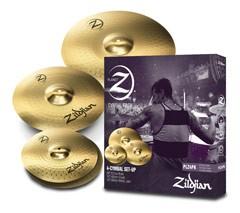 ZILDJIAN Planet Z Serie 4 Pack bestehend aus: