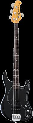 MUSIC MAN Caprice Bass E-Bass, Black,
