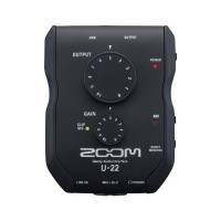 ZOOM U-22 Recording Interface