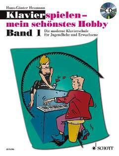 NOTEN Klavierspielen mein schönstes Hobby Heumann Band 1 ED 8246