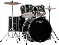 MAPEX Tornado Schlagzeugset inkl. Zildjian Planet Z Beckensatz Schwarz TND5044TC