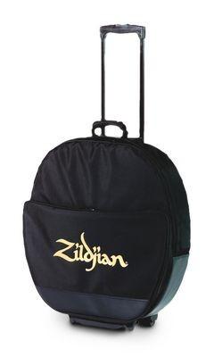 """ZILDJIAN 22"""" Cymbal Trolley Deluxe, schwarz"""