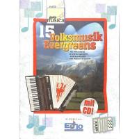 NOTEN 15 Volksmusik Evergreens KOCH-PM1004