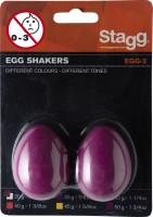 STAGG EGG-2 MG Egg Shaker Magenta