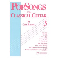 NOTEN Pop Songs for Classical Guitar 3 Hartog Cees ALSBACH10576