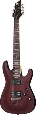 SCHECTER Omen 7 E-Gitarre